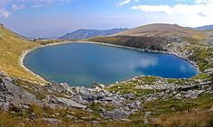 """Pelister National Park near Bitola.  These lakes are known as """"Pelister's eyes""""."""