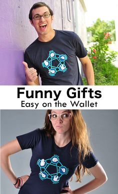 "Get used to hearing, ""Where'd you get that shirt? It's hilarious!"" SnorgTees makes funny, witty t-shirts and hoodies for men, women and kids. Our tees are made with soft, comfy materials that'll have you reaching for your favorite SnorgTee week after week. Whether you're looking for a clever gift for someone special or need a funny gift for a gift exchange, SnorgTees is a must."
