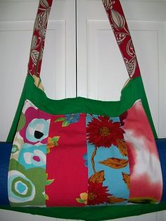 Love this upcycled one-of-a-kind yoga mat bag on eBay?  I do cause I made it!