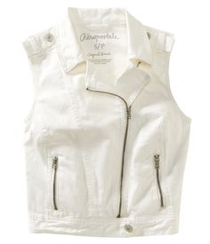 Denim Moto Vest - Aeropostale several  styles on clearance for $21-28