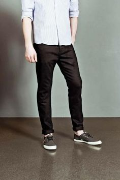 WESC Eddy Jeans Solid Black