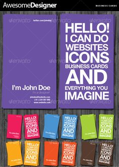 Awesome+Designer+Business+Cards