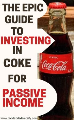 Invest money in companies you know. Coke is a dividend stock for passive income from dividends. Dividend investing is a proven for wealth building. And Coke is a great investment idea for your investment portfolio. Stock Market Investing, Investing In Stocks, Investing Money, Money Tips, Money Saving Tips, Investment Tips, Investment Portfolio, Stock Analysis, Dividend Investing