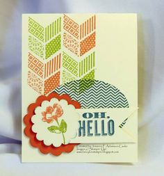 Oh_Hello-1-2013_by_JosannaP by JosannaP - Cards and Paper Crafts at Splitcoaststampers