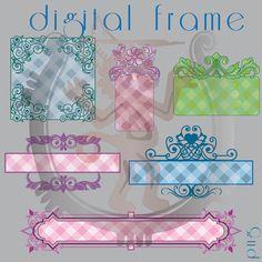 Monejo Digital Frames. Marcos
