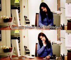 """Can you please spell 'Gabbana'? Guess not.    >>> """"LIKE"""" our page Funny Movie Lines on Facebook by clicking on the picture!  #TheDevilWearsPrada #AnneHathaway #FunnyMovieLines"""
