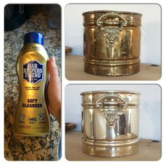 Bar Keepers Friend and brass/copper go hand and hand.