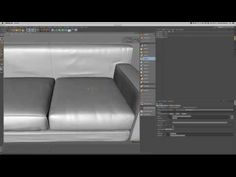 sculpt a sofa with cinema 4d - YouTube