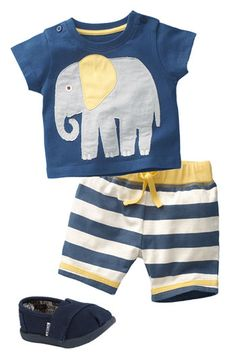 Mini Boden T-Shirt & Shorts (Infant) | Nordstrom