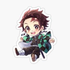 Kimetsu No Yaiba stickers featuring millions of original designs created by independent artists. Anime Stickers, Kawaii Stickers, Cute Stickers, Kawaii Chibi, Cute Chibi, Kawaii Anime, Demon Slayer, Slayer Anime, Dibujos Anime Chibi