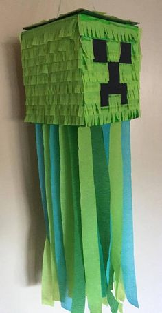 Minecraft Inspired Creeper Pinata Boys Pinata Boys Party – Moja strona - Mine Minecraft World Minecraft Pinata, Creeper Minecraft, Pastel Minecraft, Craft Minecraft, Minecraft Face, Minecraft Costumes, Minecraft Party Decorations, Minecraft Birthday Cake, Minecraft Ideas