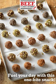 Fuel up with delicious beef power bites Low Carb Recipes, Beef Recipes, Cooking Recipes, Healthy Recipes, Soup Appetizers, Foods With Gluten, Mexican Food Recipes, Food Inspiration, Food To Make
