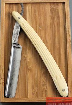 Daniel Herder Solingen Rasiermesser ,straight razor, coupe choux,