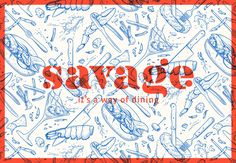 Savage is Antwerp's first 'lobster bar'. The name 'Savage' refers to the wild way of eating lobster: tearing with teeth, getting your hands dirty and breaking its claws with a cracker.Pinkeye designstudio was asked to come up with a concept for interior …
