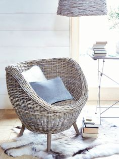 Cox & Cox Rattan Tub Chair £275 H 78 x W 82 x D 75cm In stock late march