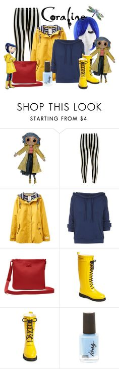 """""""Coraline"""" by pauirh ❤ liked on Polyvore featuring Joules, Free People, Lacoste and Ilse Jacobsen Hornbaek"""