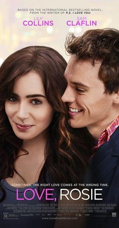 Love, Rosie on DVD May 2015 starring Lily Collins, Sam Claflin. Since the moment they met at age Rosie (Lily Collins) and Alex (Sam Claflin) have been best friends, facing the highs and lows of growing Film Love Rosie, Sam Claflin, See Movie, Movie List, Movie Tv, Series Movies, Hd Movies, Movies Online, Action Movies
