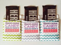 The Lily of the Valley Craft Room: Dance Team Candy Bar Favors Made Super Simple!