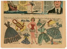 77.5843: Hilda | paper doll | Paper Dolls | Dolls | National Museum of Play Online Collections | The Strong