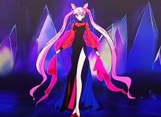 Black Lady (Black Moon Clan) - Sailor Moon R screencaps Sailor Moon Tattoos, Sailor Moons, Sailor Chibi Moon, Sailor Moon Villians, Sailor Moon Crafts, Twilight Princess Midna, Sailor Moon Kristall, Sailor Moon Screencaps, Sailor Moon Aesthetic