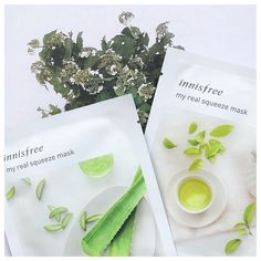 innisfree It's real squeeze mask pack, Green Tea) Innisfree Skincare, Cucumber For Face, Face Skin Care, Sheet Mask, Useful Life Hacks, Mask For Kids, Skin Care Tips, Body Care, Shopping