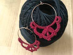 BETTIE gehäkelte Creolen, Ohrringe von Ohrringal auf Etsy Crochet Earrings, Crochet Patterns, Etsy, Jewelry, Stud Earrings, Crocheting, Boucle D'oreille, Craft Gifts, Ear Piercings