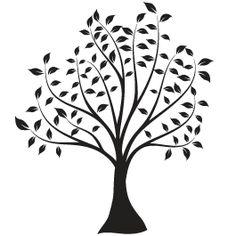 happy tree decal