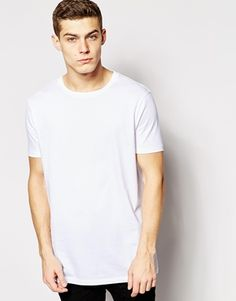 ASOS Longline T-Shirt With Skater Fit