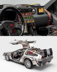 We'd love to take a trip through time in this DeLorean!