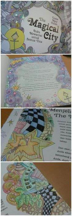 Magical City Coloring BooksCity