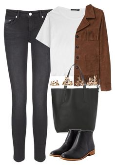 """Untitled #3189"" by keliseblog ❤ liked on Polyvore featuring BLK DNM, rag & bone, MANGO and Forever 21"
