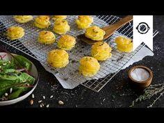 Kartoffeltürmchen I Rezept für Kartoffelgratin aus der Muffinform   EDEKA - YouTube