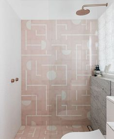 Bathroom tile idea