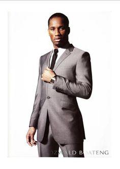 Drogba wearing Ozwald Boateng                                                                                                                                                                                 More