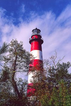The Chincoteague Lighthouse - Chincoteague National Wildlife Area, Virginia