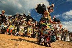 Women from Dayak Kenyah - Indonesia