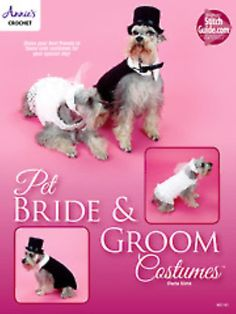 Pet Bride and Groom Costumes Leaflet Brand New from by PenandHook