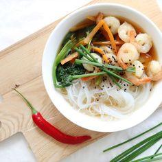 Avec ma soupe chinoise maison, ce soir on dîne chinois et chez moi !