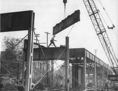 A Look Back • Dingy but busy railroad trestle stalls Arch project almost three decades
