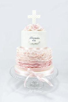 Christening Cake by Art Bakin