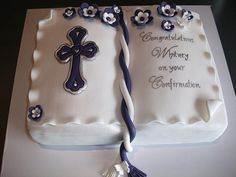 Confirmation Cake | Flickr - Photo Sharing!