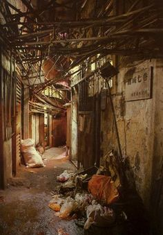"""Kowloon Walled City"" - Hong Kong, China..."