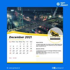 Desain Kalender PT. Indo Crane Pratama Crane, Calendar