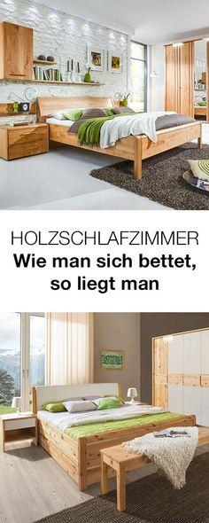 SCHLAFZIMMER in Kieferfarben, Weiß Schlafzimmer Pinterest - schlafzimmer mit eckschrank