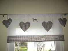 leinen scheibengardine hellbeige kl ppelspitze von rosenstuebchen auf. Black Bedroom Furniture Sets. Home Design Ideas