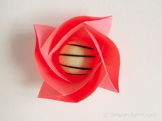 Origami Rose Box  :: Caja Rosa