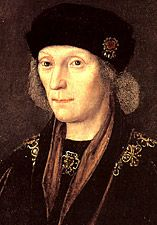 Henry VII, He united the houses of Lancaster and York ending the War of the Roses and founding the Tudor dynasty.....My 16 times great grandfather.