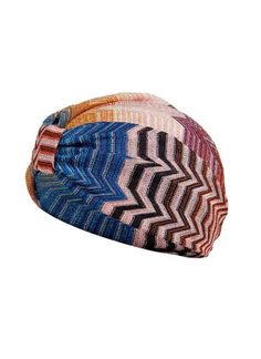 This classic Missoni print turban takes a classic concept and makes it modern with the right amount of edgy. - Glam Gifts for Holiday Season #Missoni #print #turban
