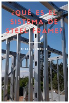 Steel Concept Soluciones: Sistema de construcción Steel Framing ¿Que es? Steel Framing, Container Homes Cost, Civil Engineering, Drywall, Architecture, Frame, Cave, Steel Structure, Arquitetura
