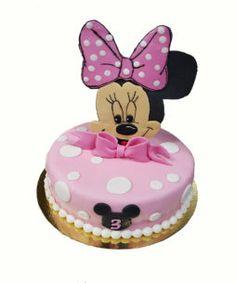 tort minnie Minnie Mouse, Disney Characters, Pies